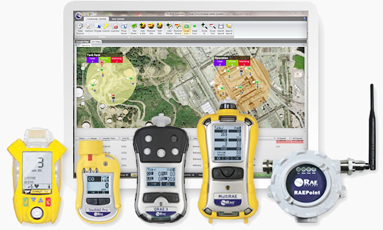 Online Portable Gas Detection